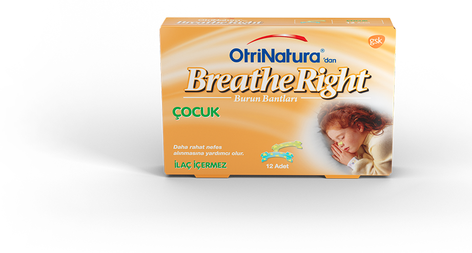 OtriNatura'dan Breathe Right Çocuk Burun Bandı