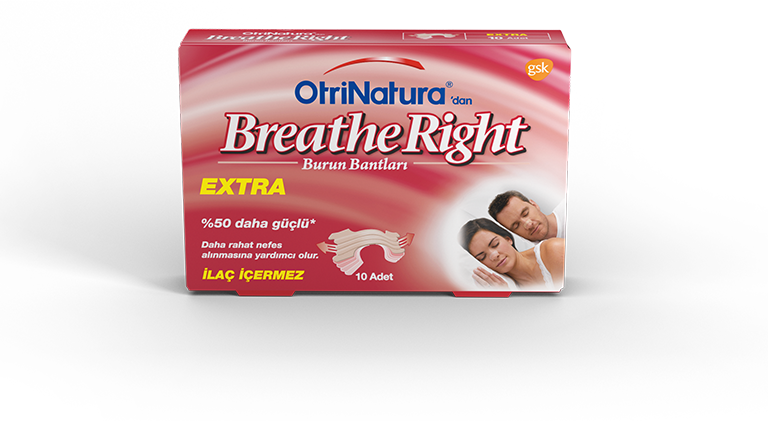 OtriNatura'dan Breathe Right Extra Burun Bandı