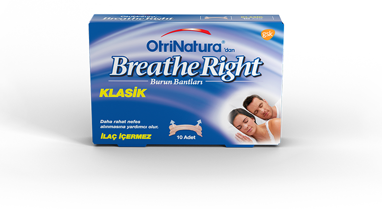 OtriNatura'dan Breathe Right Klasik Burun Bandı